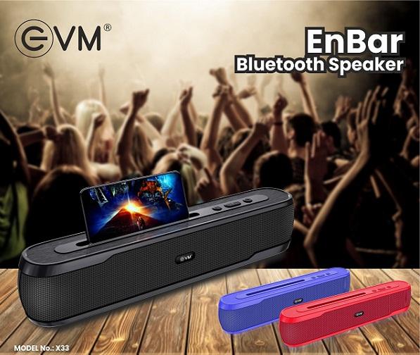 Indian Brand EVM Launches Portable Bluetooth Speaker 'EnBar'